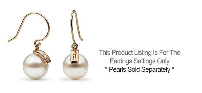 Athena Collection Earrings - Setting Only