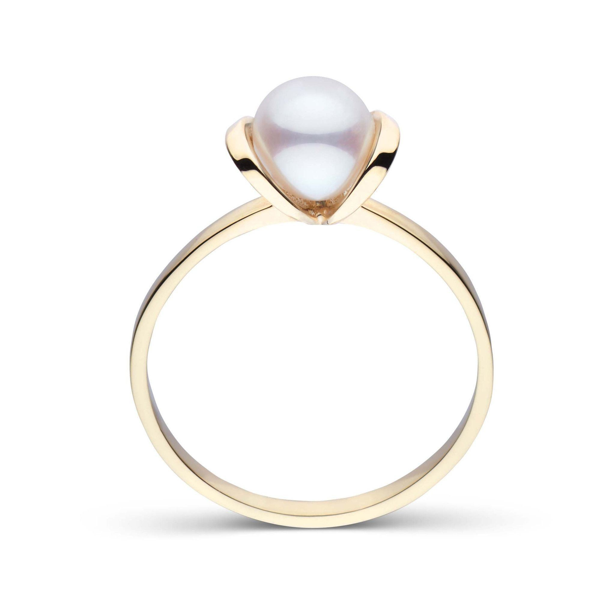 Bonita Collection Akoya Pearl Ring