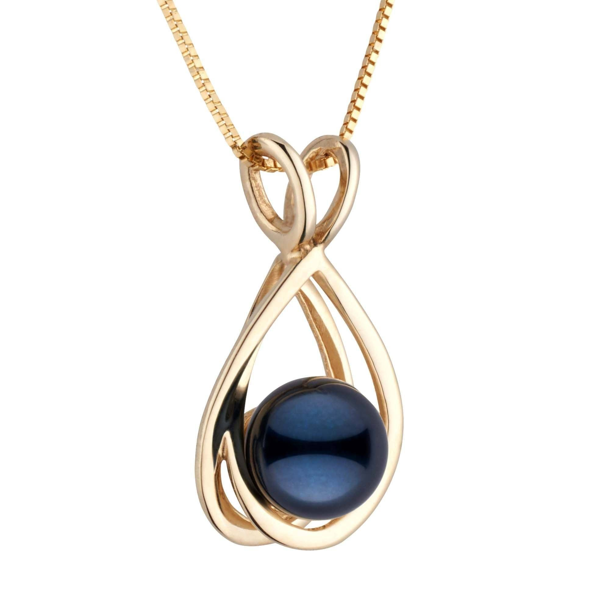 Bonita Collection Black Akoya Pearl Pendant