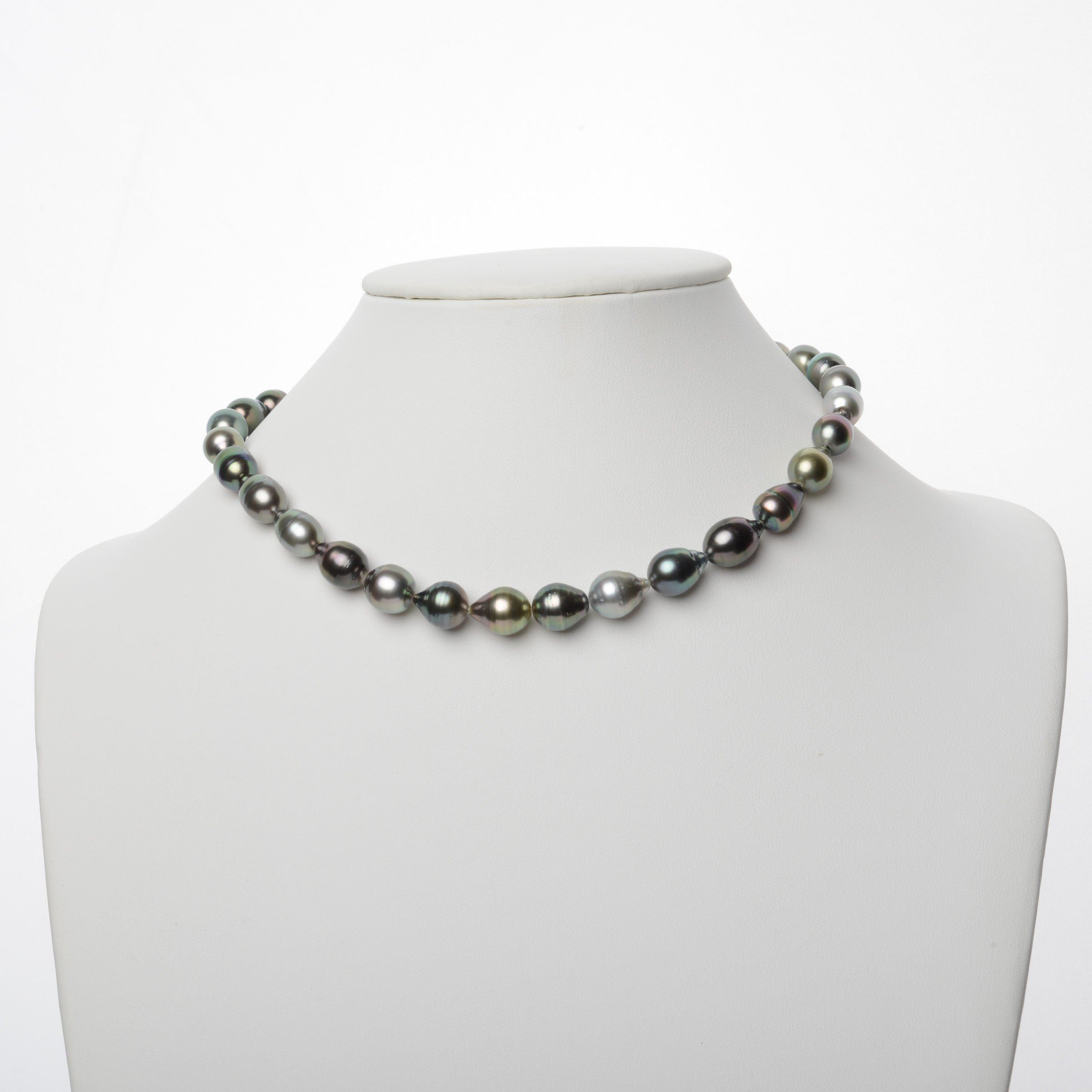 9.0-11.1 mm AA+/AAA Tahitian Baroque Pearl Necklace