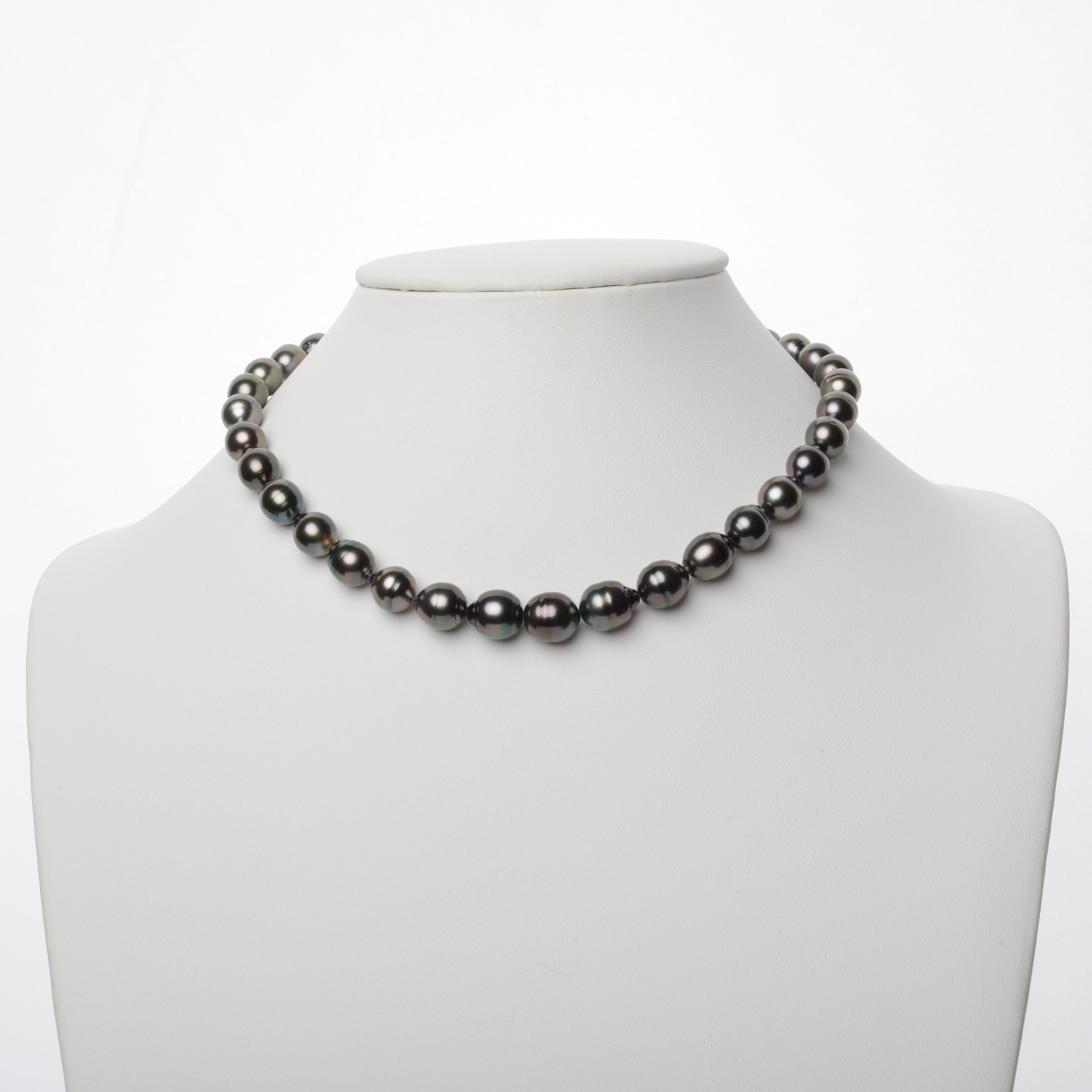 9.0-11.4 mm AA+/AAA Tahitian Baroque Pearl Necklace
