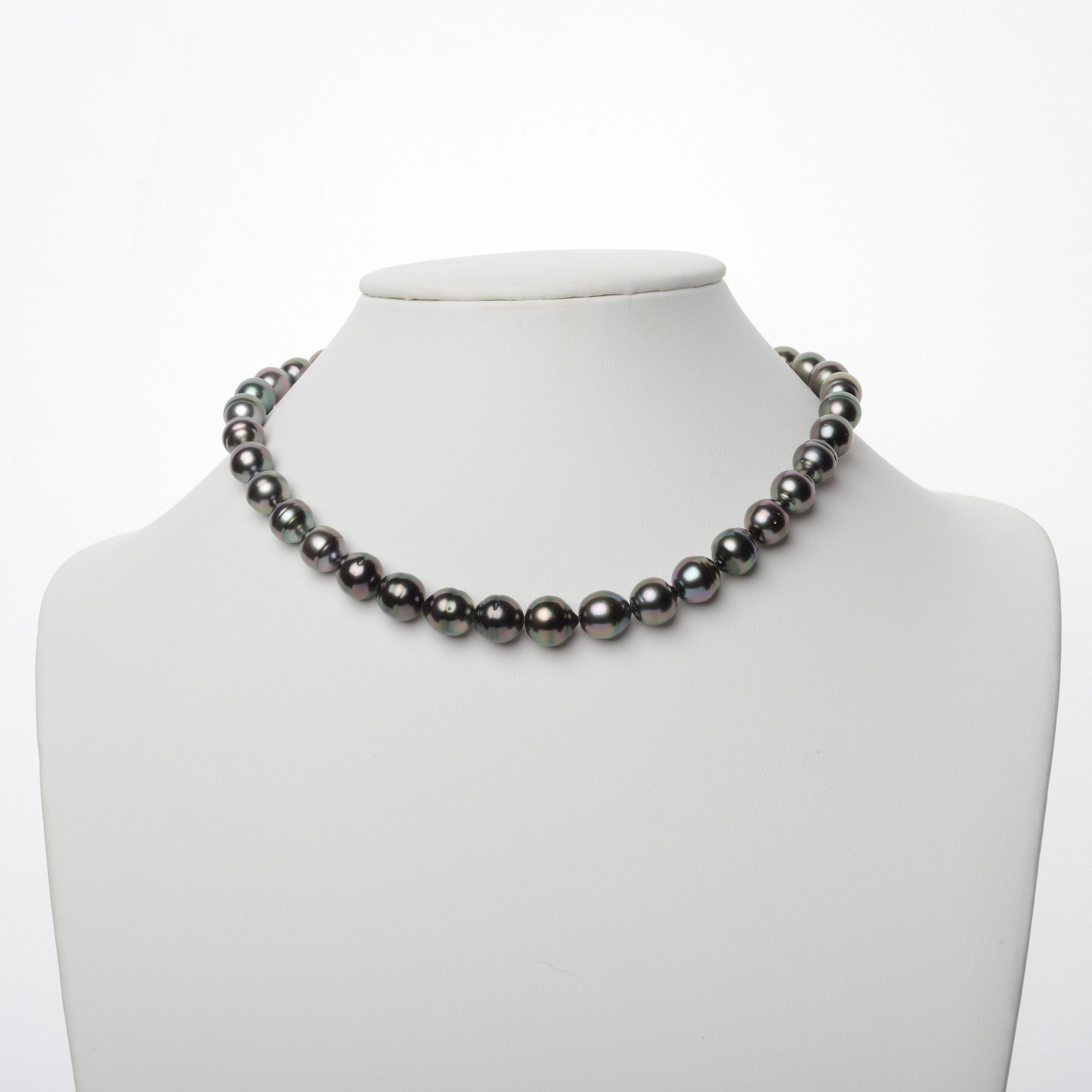 9.1-11.8 mm AA+/AAA Tahitian Baroque Pearl Necklace