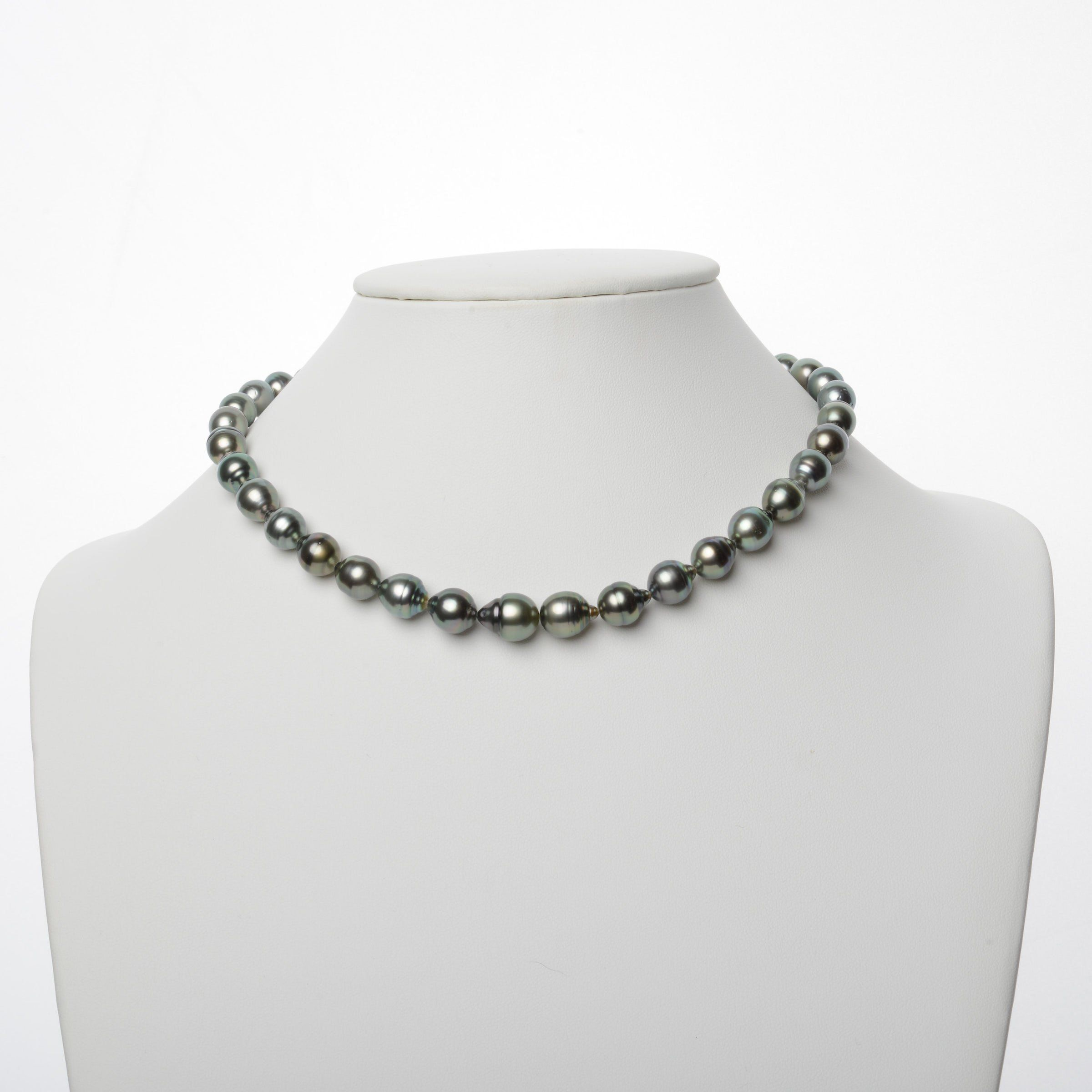 9.0-11.2 mm AA+/AAA Tahitian Baroque Pearl Necklace