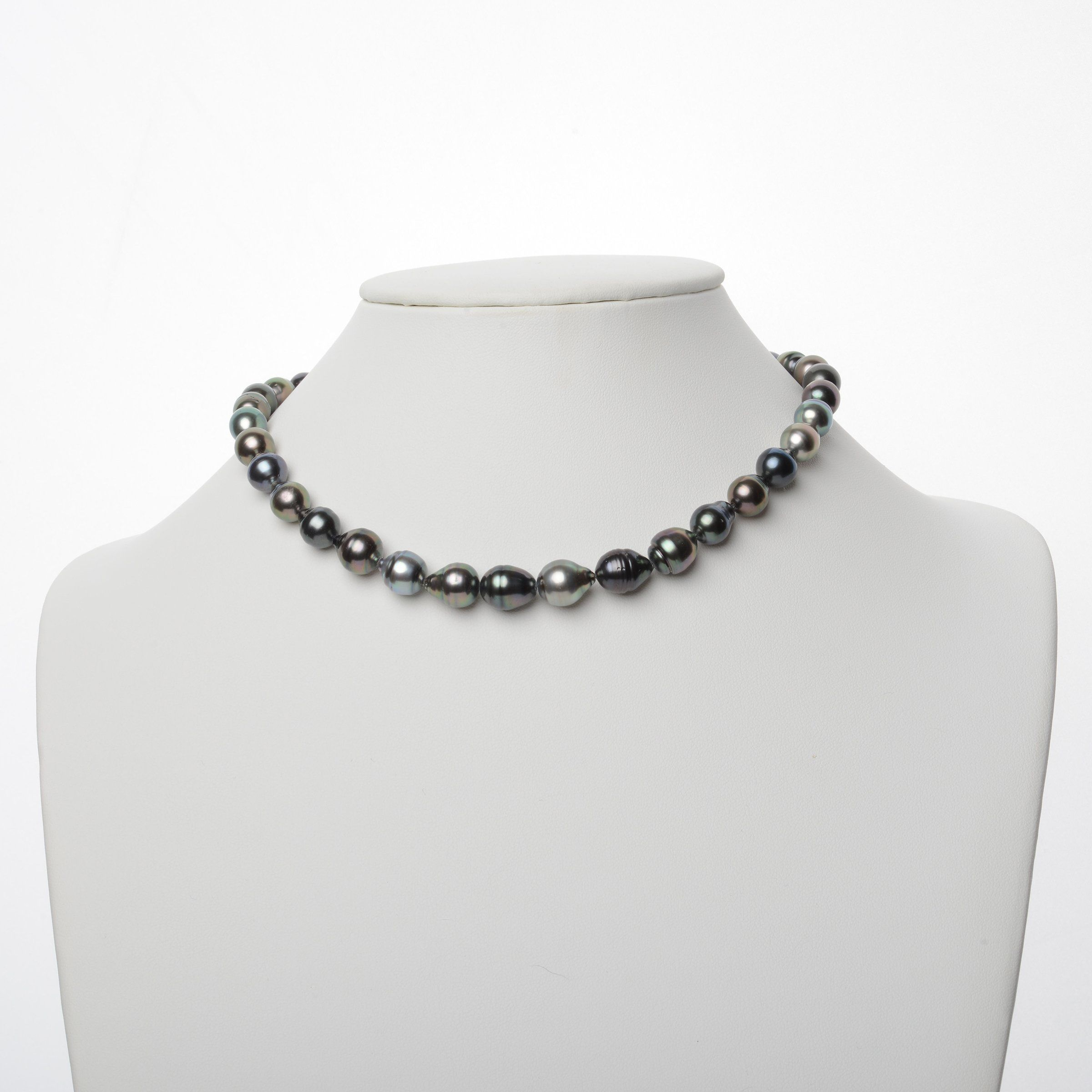 8.7-10.9 mm AA+/AAA Tahitian Baroque Pearl Necklace