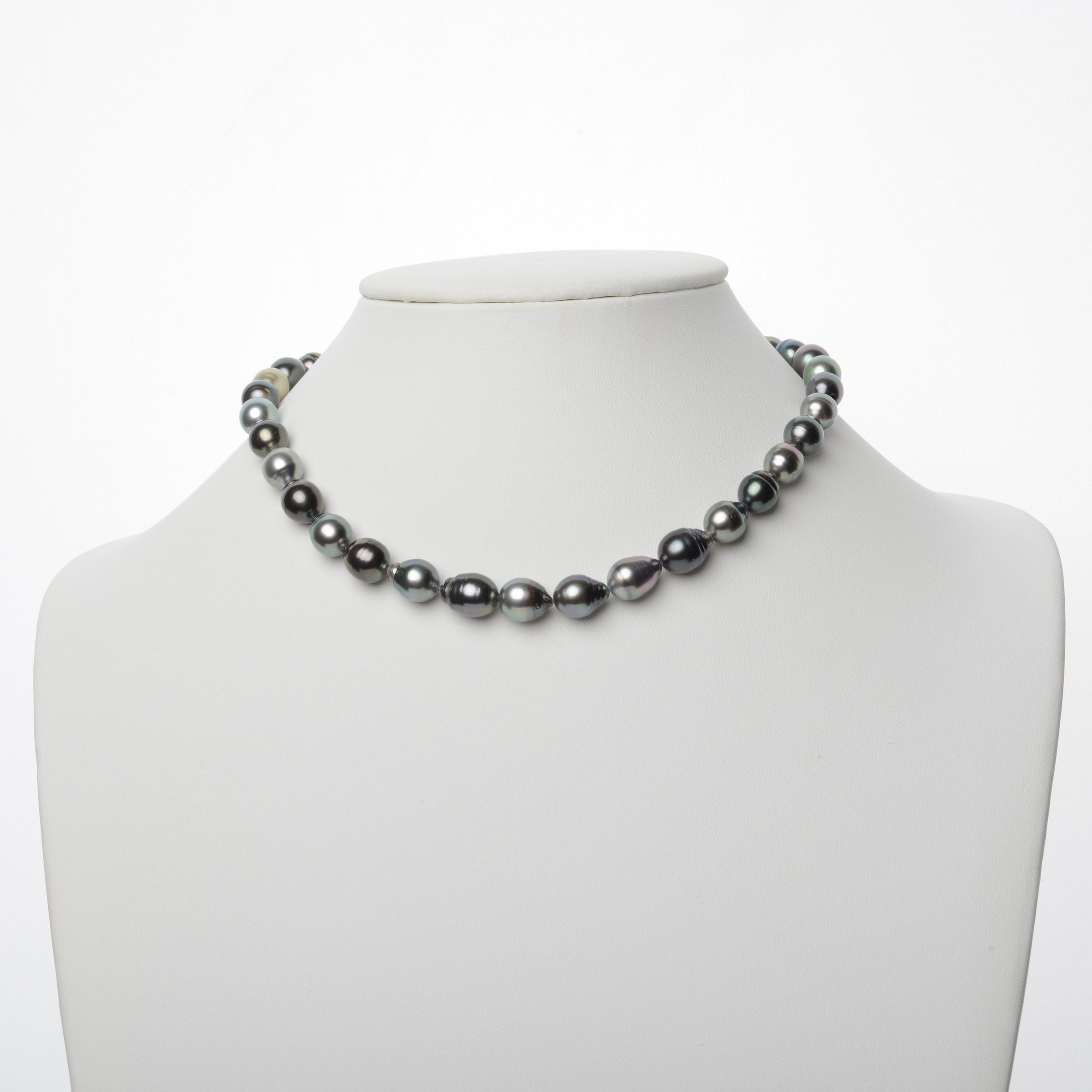 8.0-10.2 mm AAA Tahitian Baroque Pearl Necklace