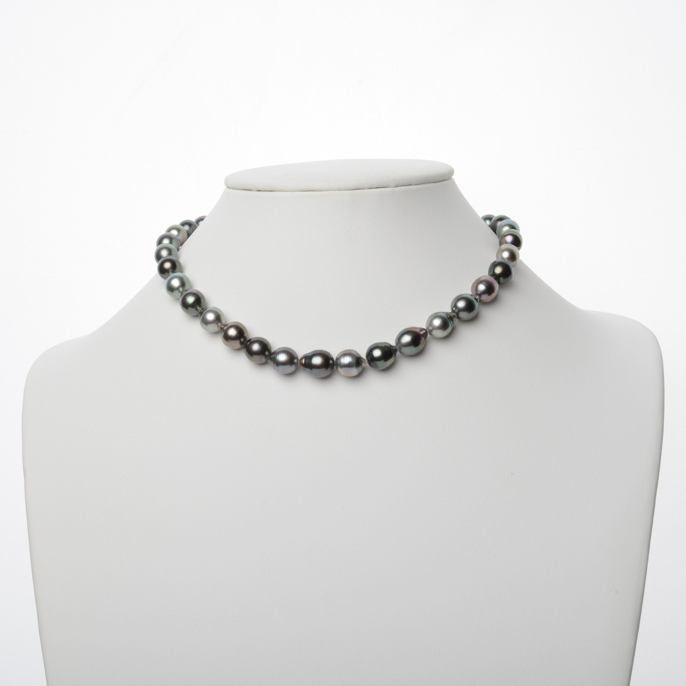 8.0-10.4 mm AAA Tahitian Baroque Pearl Necklace