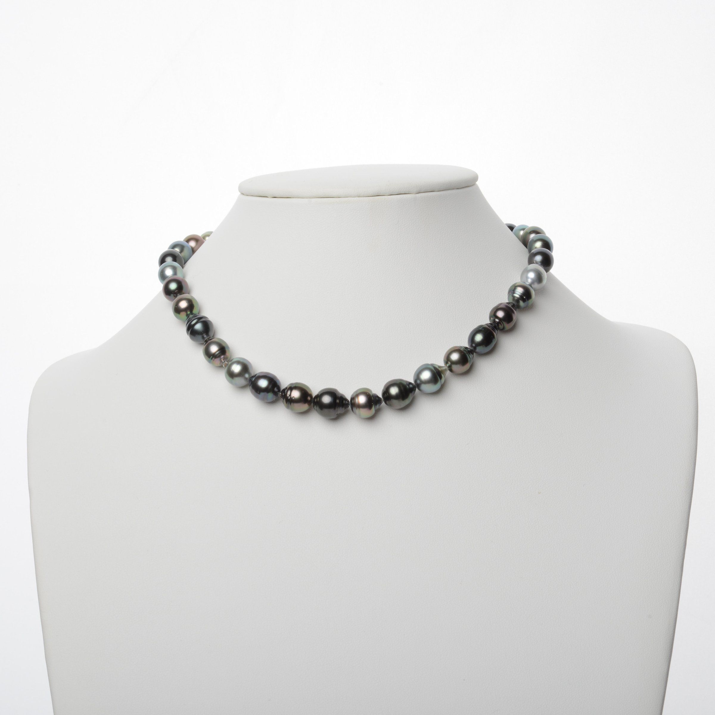 8.6-10.9 mm AAA Tahitian Baroque Pearl Necklace