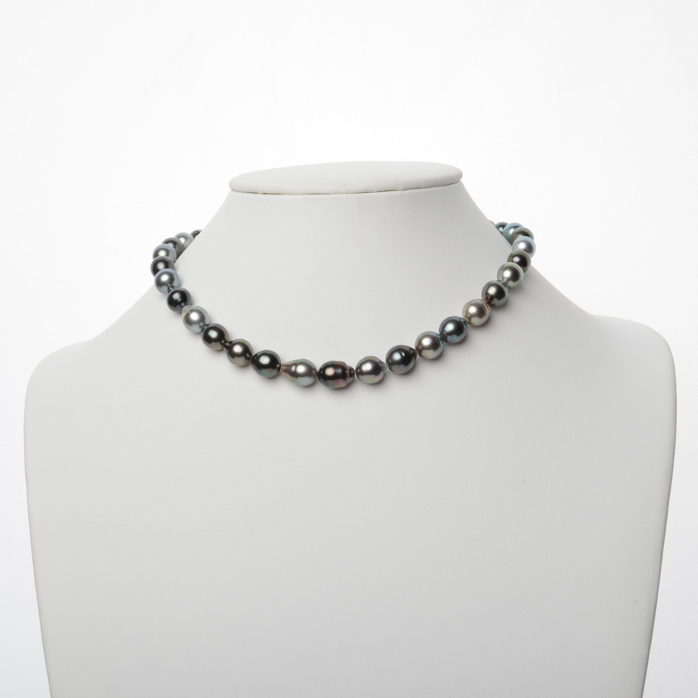 8.0-10.1 mm AAA Tahitian Baroque Pearl Necklace