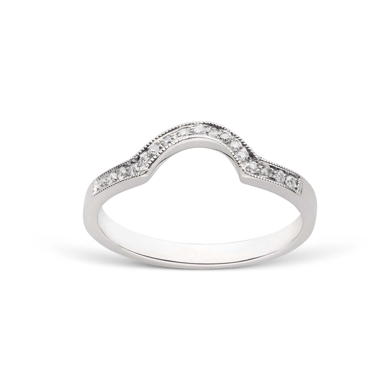Capture Diamond Band Ring - Setting Only