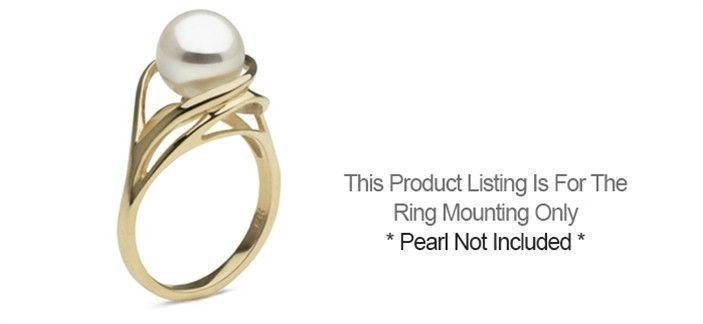 Cascade Ring - Setting Only