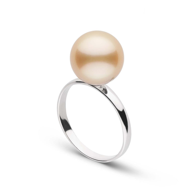 Classic Collection 10.0-11.0 mm Golden South Sea Pearl Ring