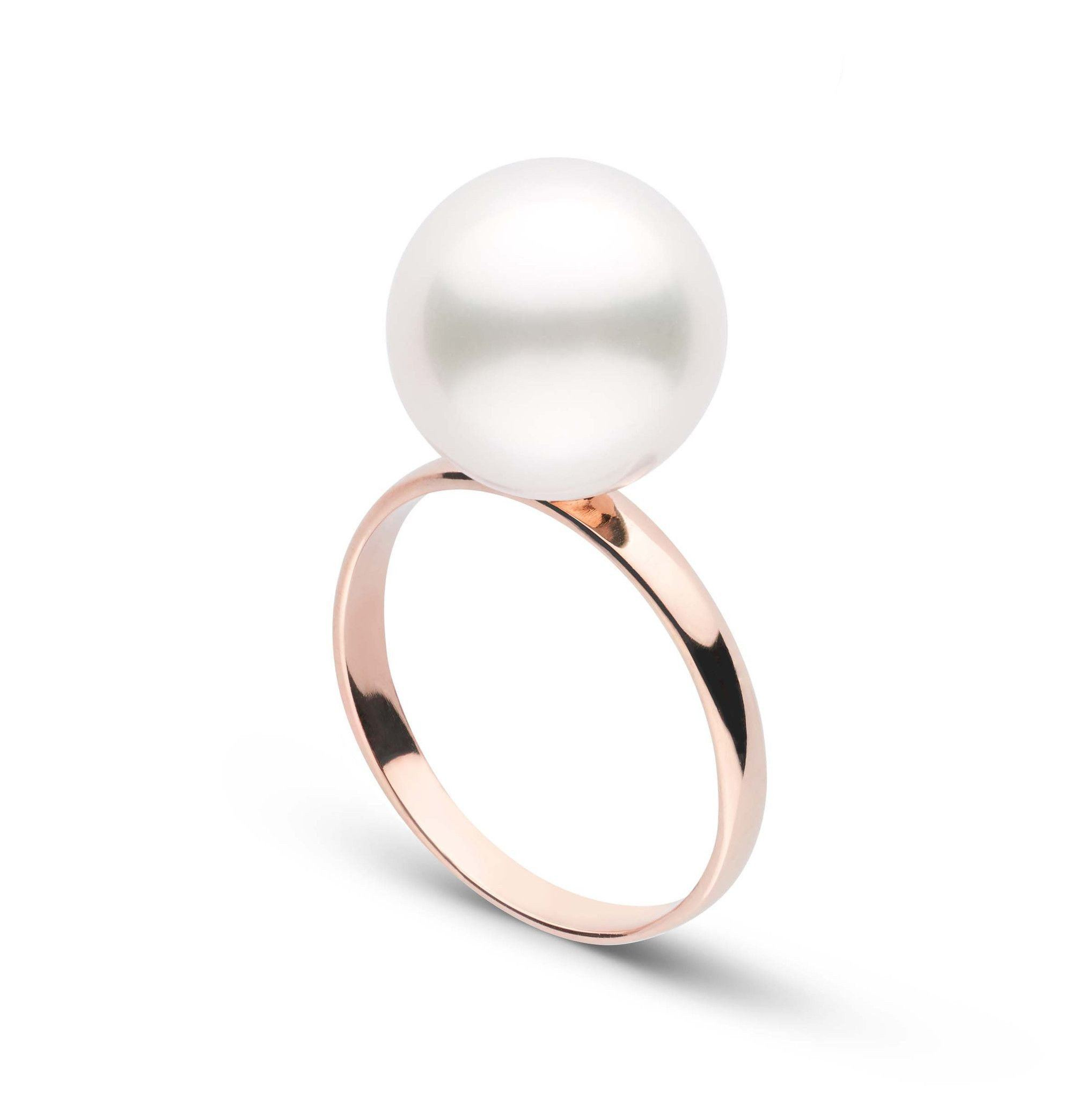 Classic Collection 11.0-12.0 mm White South Sea Pearl Ring