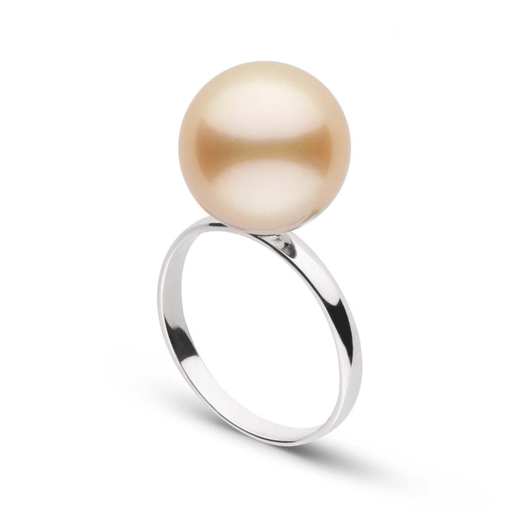 Classic Collection 12.0-13.0 mm Golden South Sea Pearl Ring