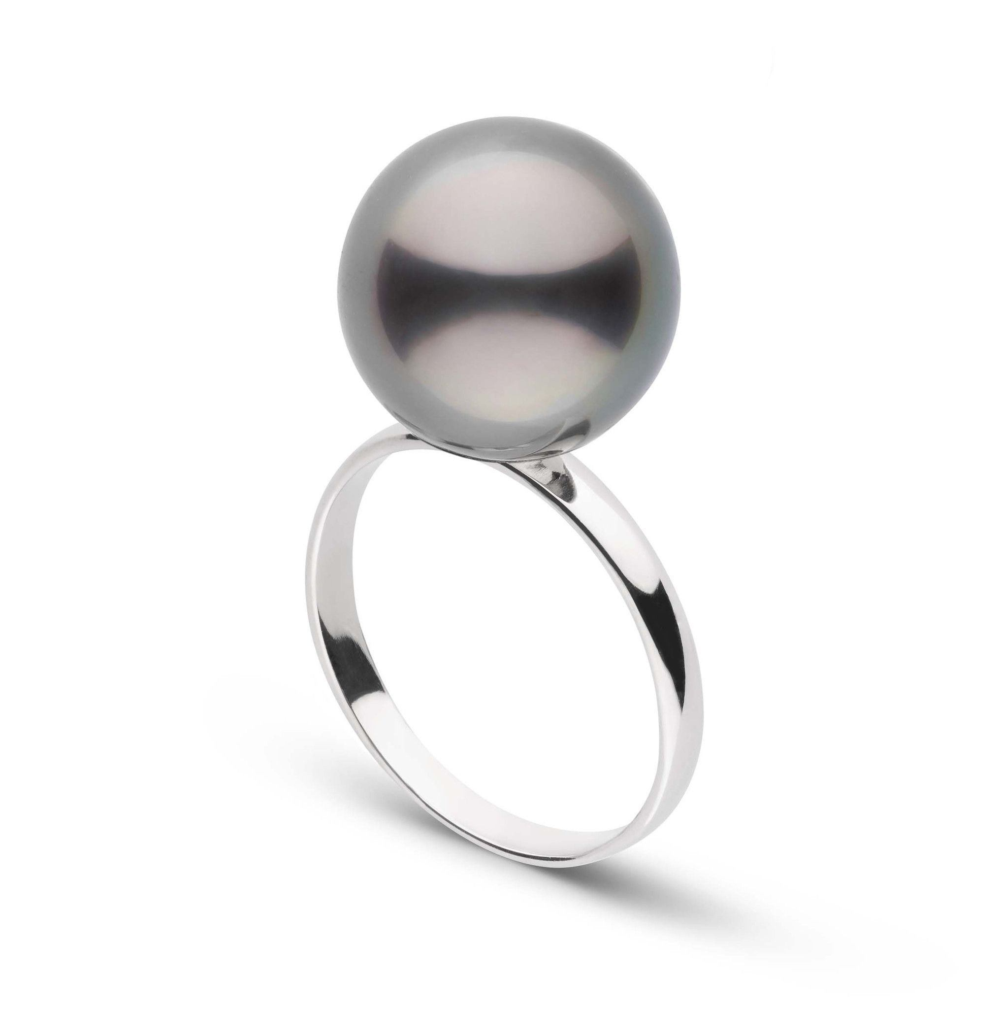 Classic Collection 12.0-13.0 mm Tahitian Pearl Ring