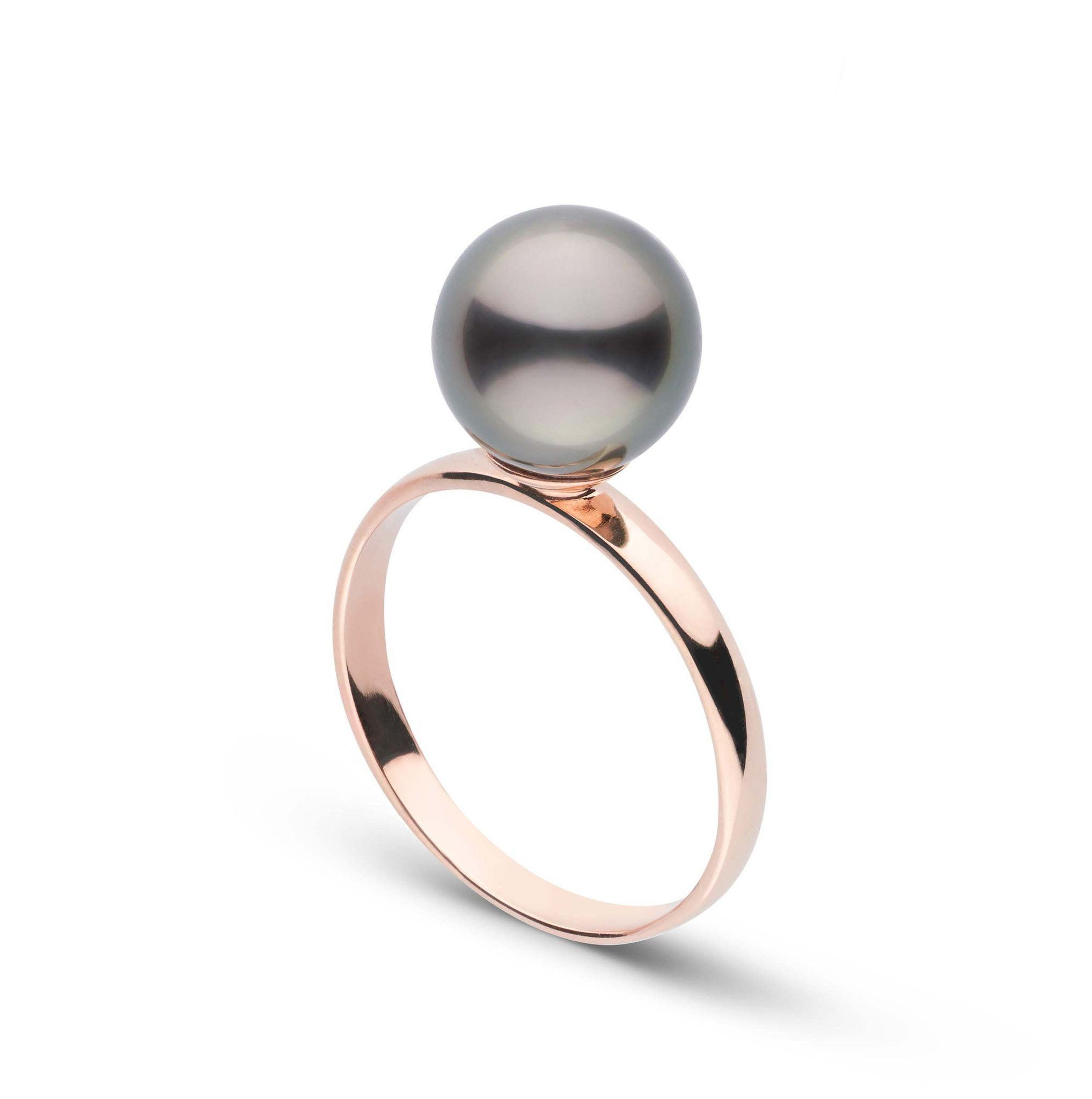 Classic Collection 8.0-9.0 mm Tahitian Pearl Ring