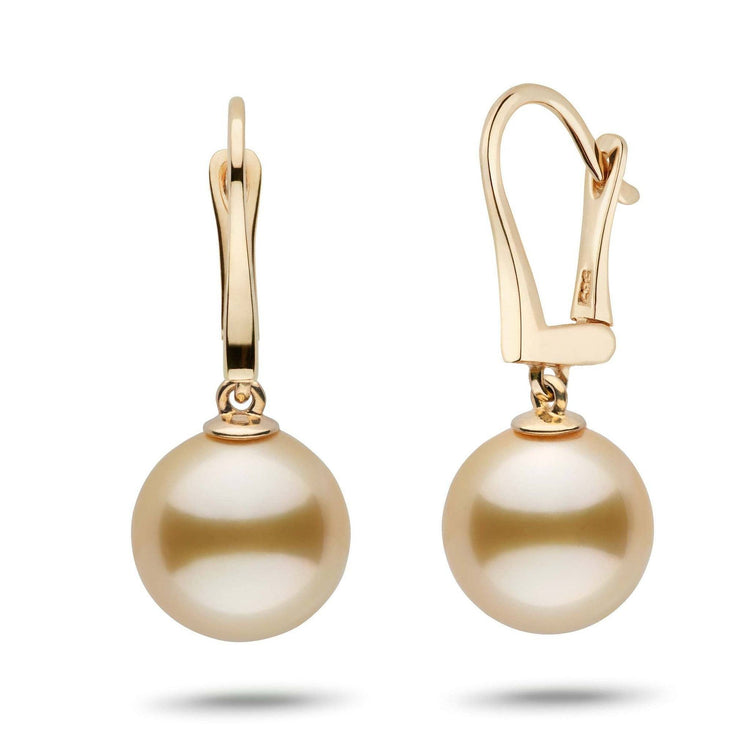 Classic Collection Golden South Sea 11.0-12.0 mm Pearl Dangle Earrings
