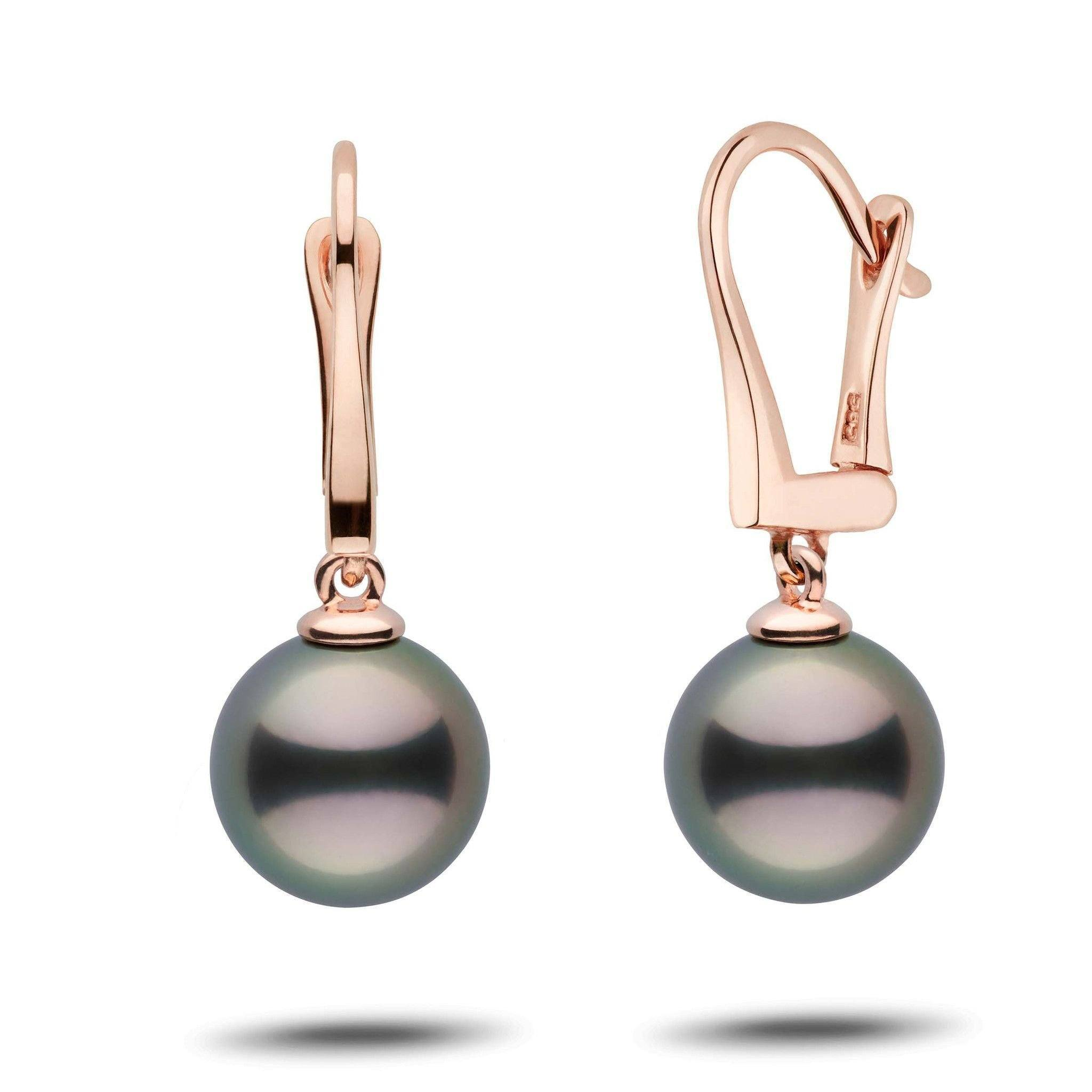 Classic Collection Tahitian 10.0-11.0 mm Pearl Dangle Earrings