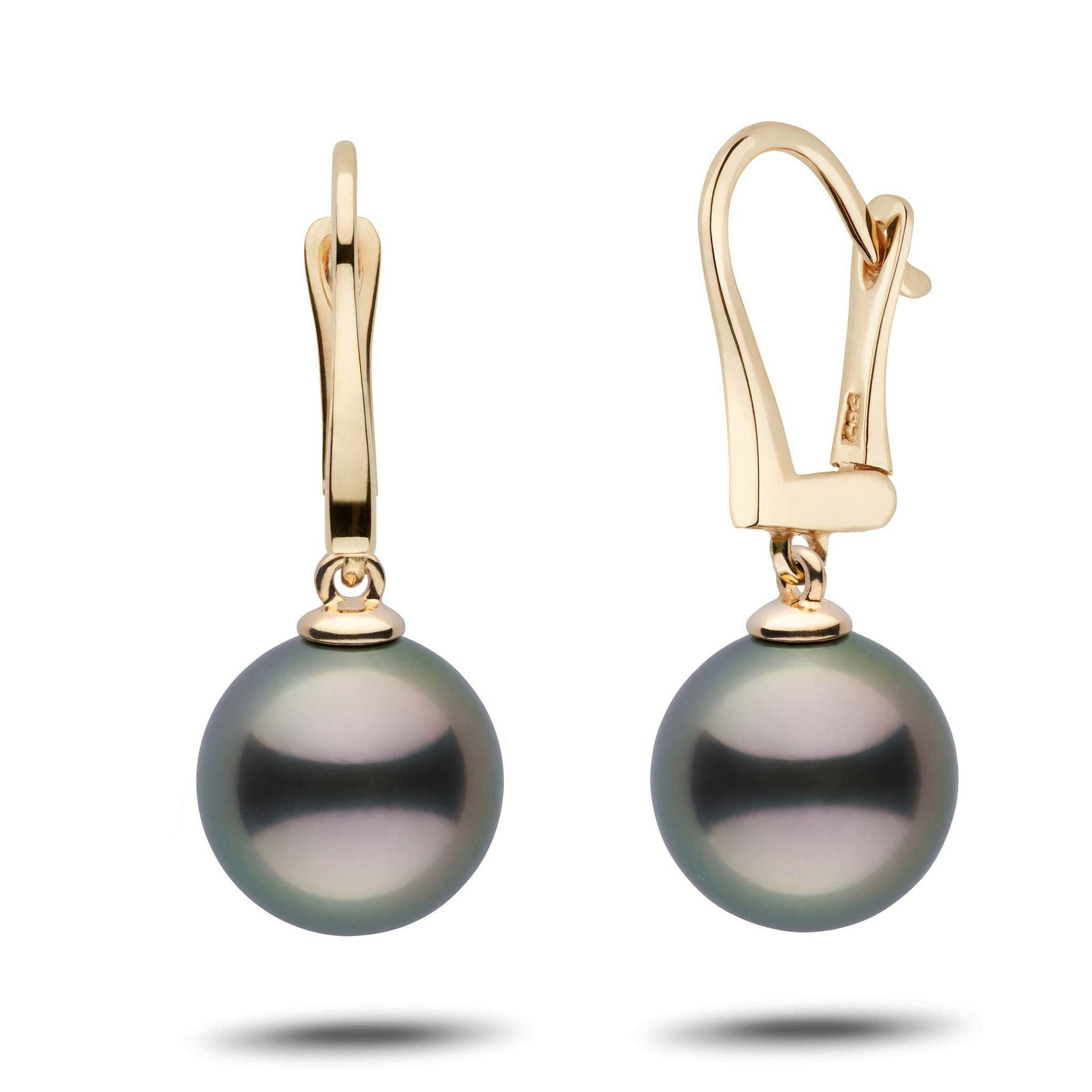 Classic Collection Tahitian 11.0-12.0 mm Pearl Dangle Earrings