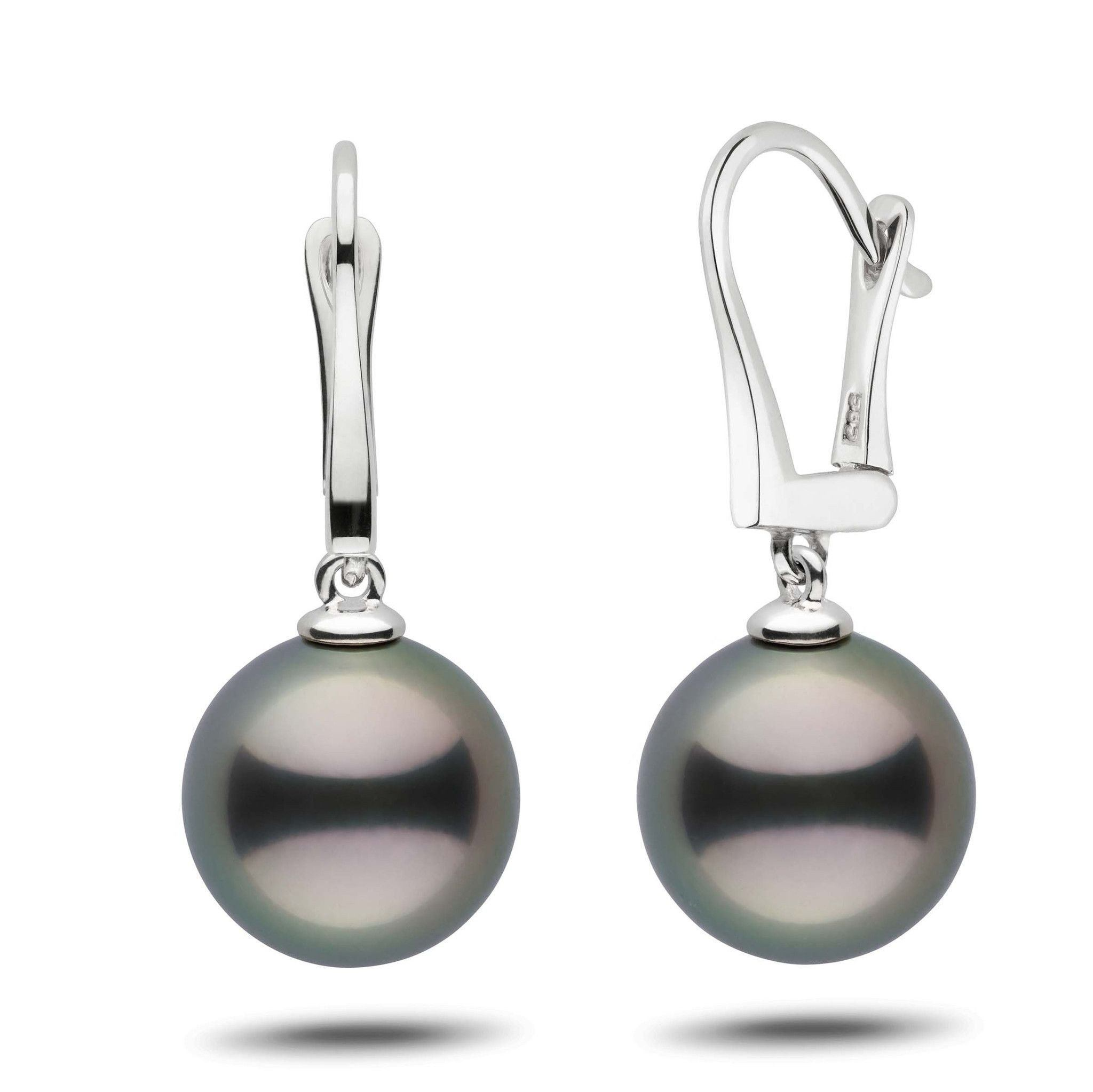 Classic Collection Tahitian 12.0-13.0 mm Pearl Dangle Earrings