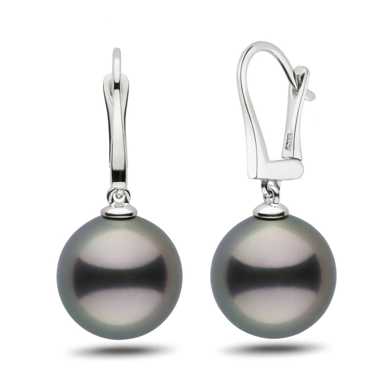 Classic Collection Tahitian 13.0-14.0 mm Pearl Dangle Earrings
