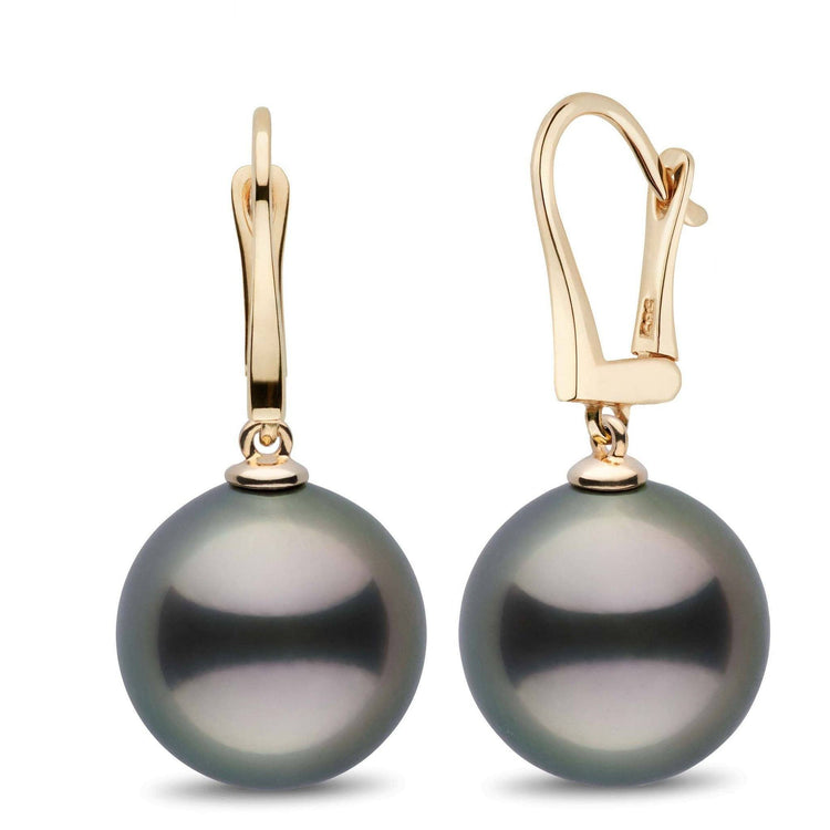 Classic Collection Tahitian 14.0-15.0 mm Pearl Dangle Earrings