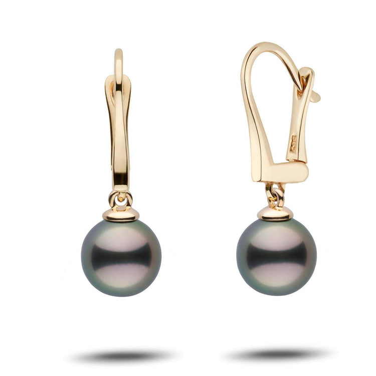 Classic Collection Tahitian 8.0-9.0 mm Pearl Dangle Earrings