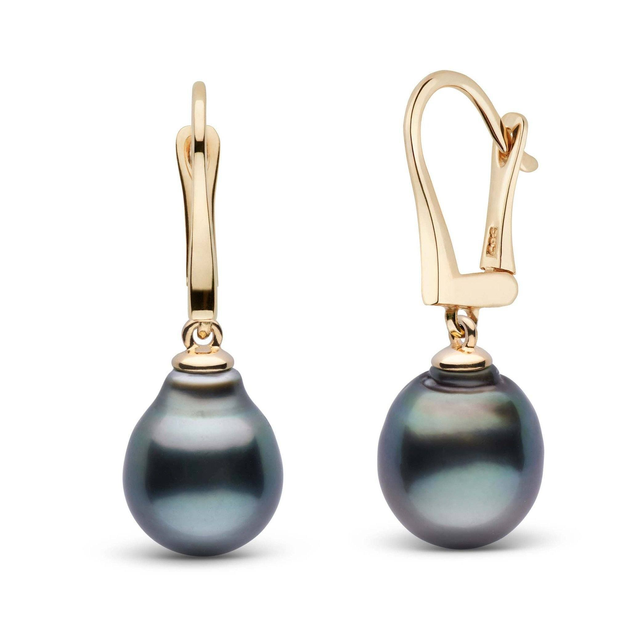 Classic Collection Tahitian Baroque 10.0-11.0 mm Pearl Dangle Earrings