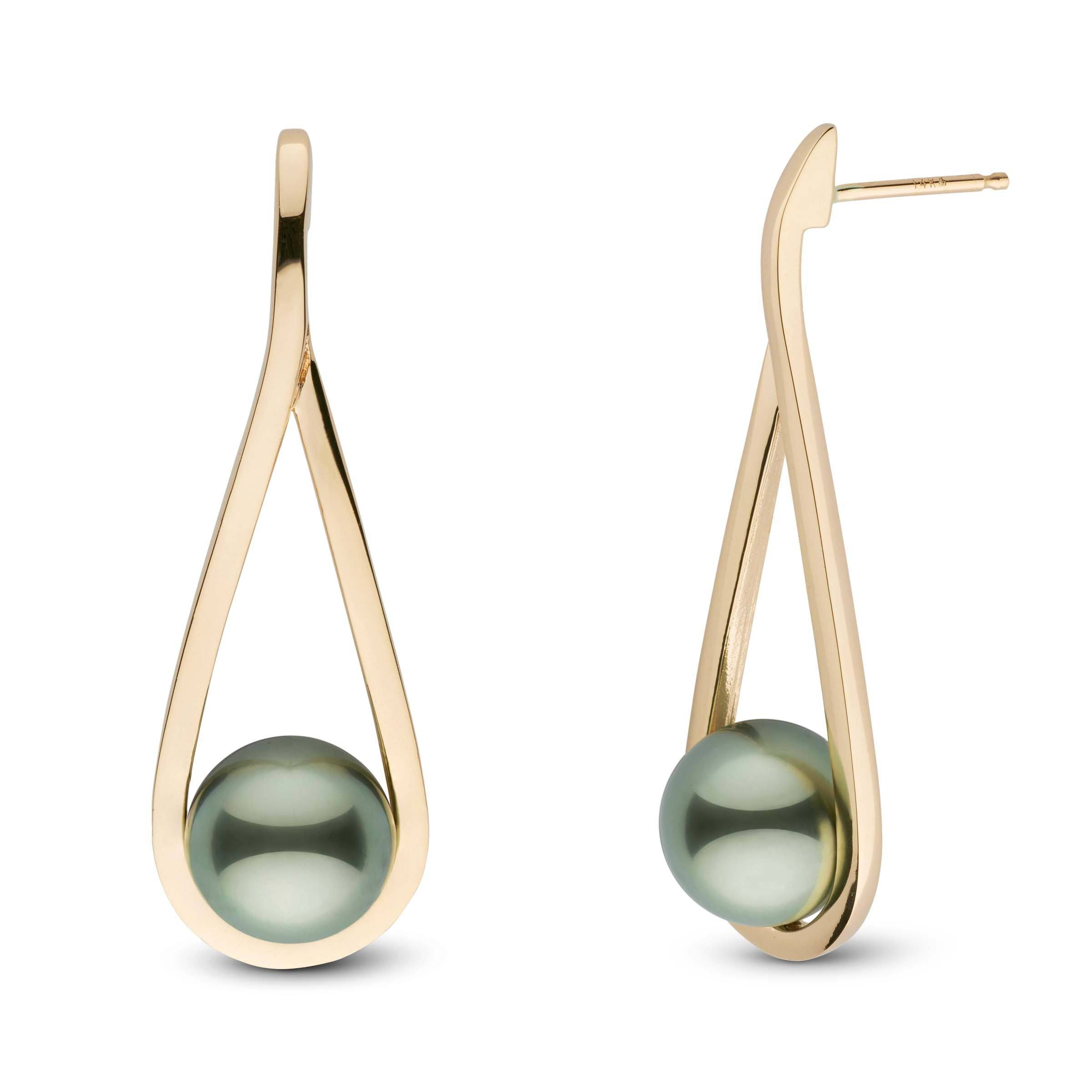 Cradle Collection Tahitian Pearl Earrings