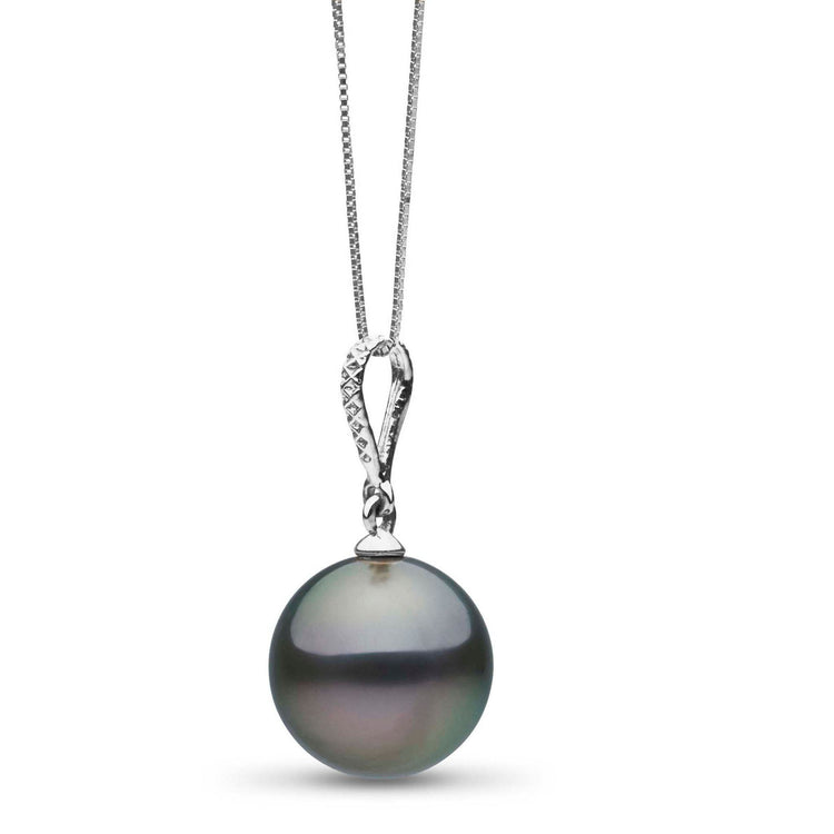 Dazzle Collection 10.0-11.0 mm Tahitian Pearl Pendant