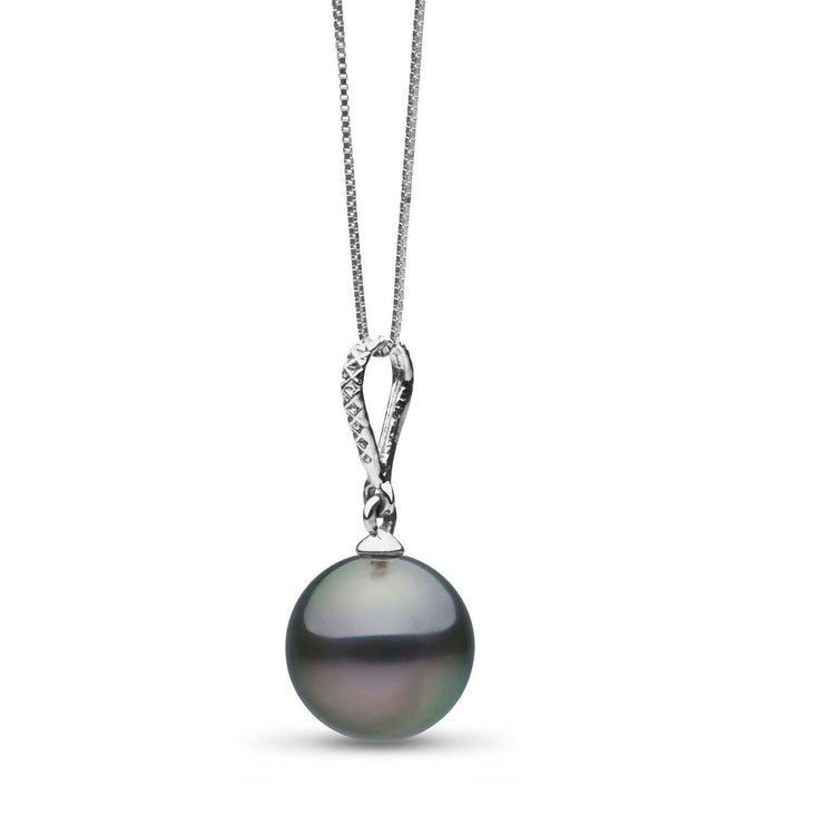 Dazzle Collection 8.0-9.0 mm Tahitian Pearl Pendant