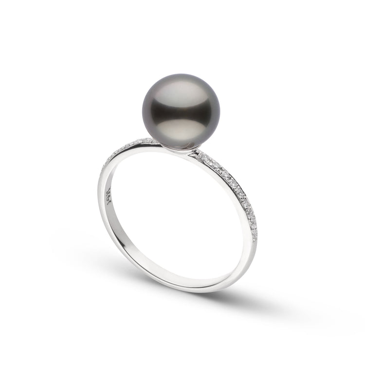 Diamond Classic Collection Tahitian Pearl Ring