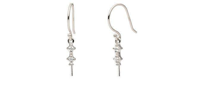 Duet Collection Earrings - Setting Only