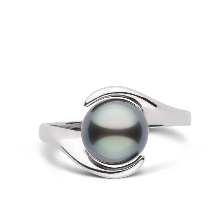 Embrace Collection Tahitian Pearl Ring in Sterling Silver