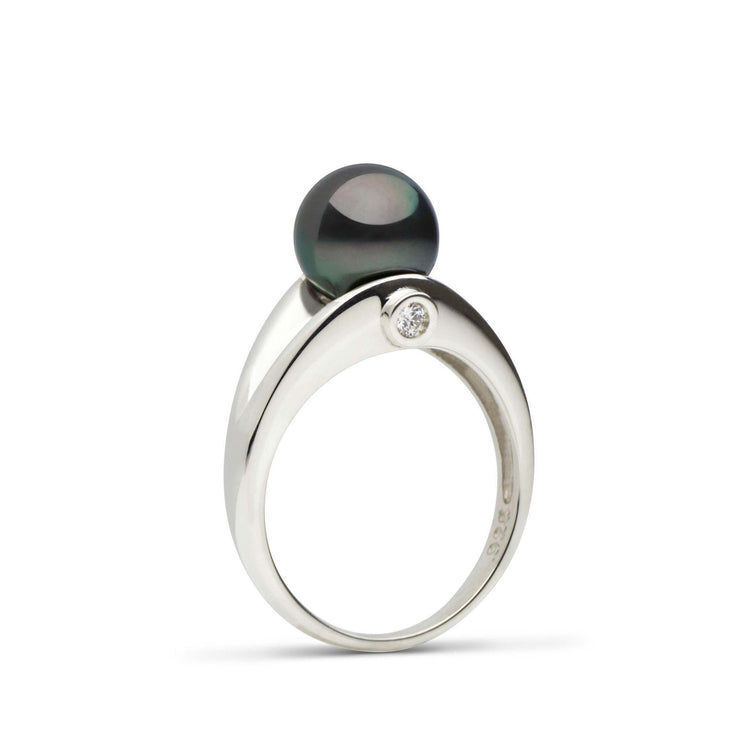 Empress Collection Tahitian Pearl and Diamond Ring