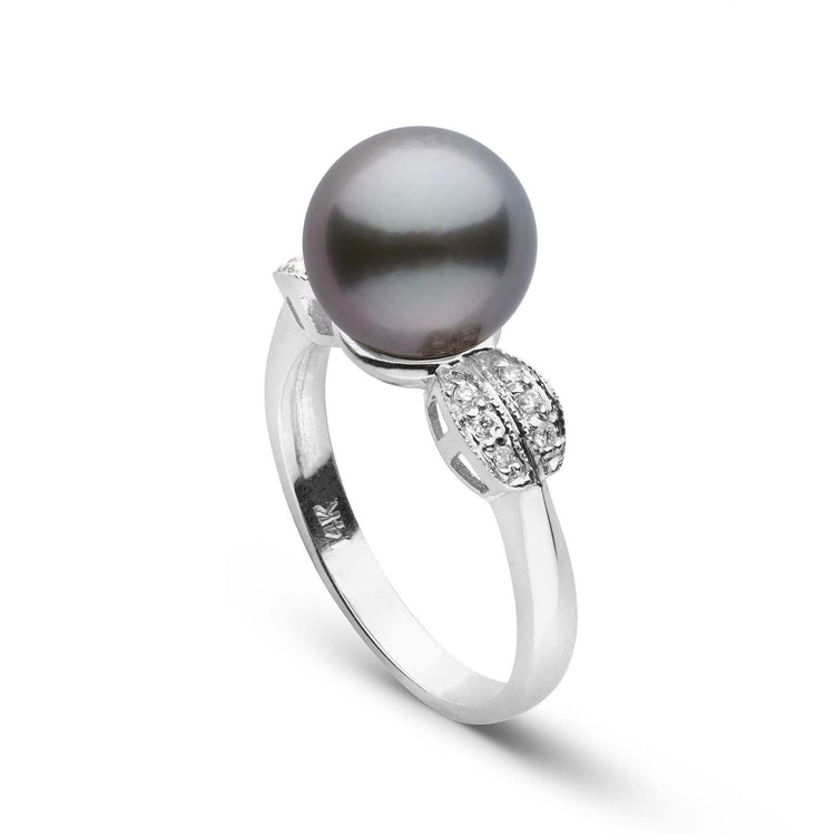 Enchant Collection Tahitian Pearl and Diamond Ring