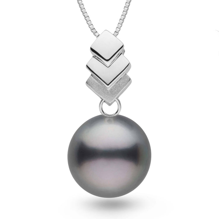 Escalier Collection Tahitian 12.0-13.0 mm Pearl Pendant in Sterling Silver