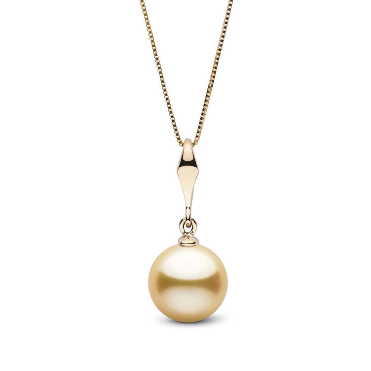 Essential Collection Golden 10.0-11.0 mm South Sea Pearl Pendant