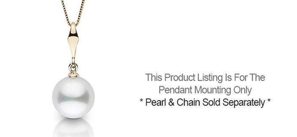 Pendant settings pearl paradise essential collection pendant setting only aloadofball Image collections