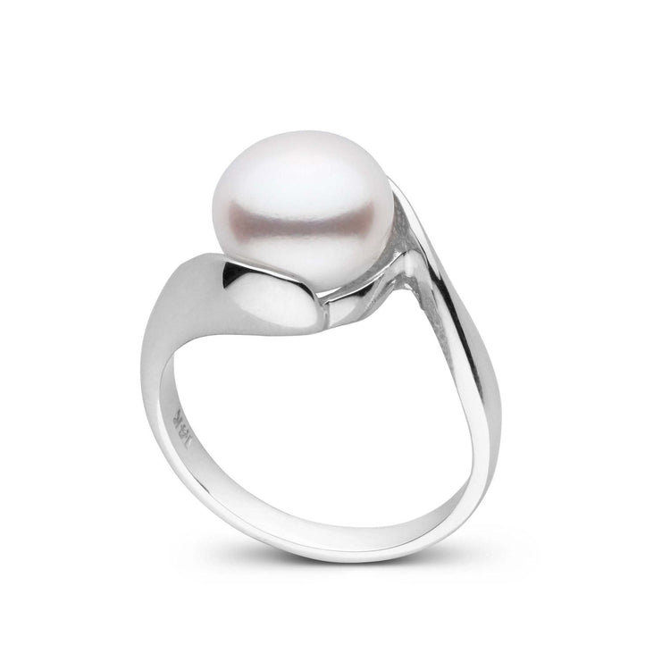 Freshwater Button Pearl Ring