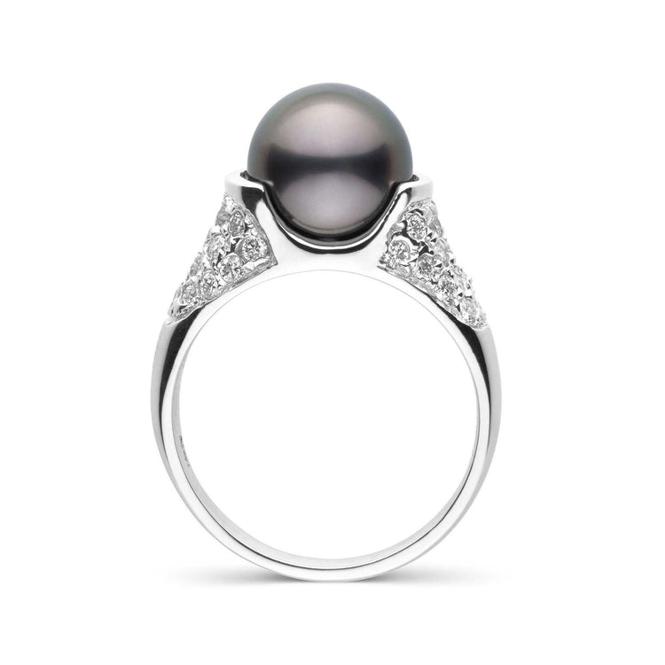 Frost Collection Tahitian Pearl and Diamond Ring