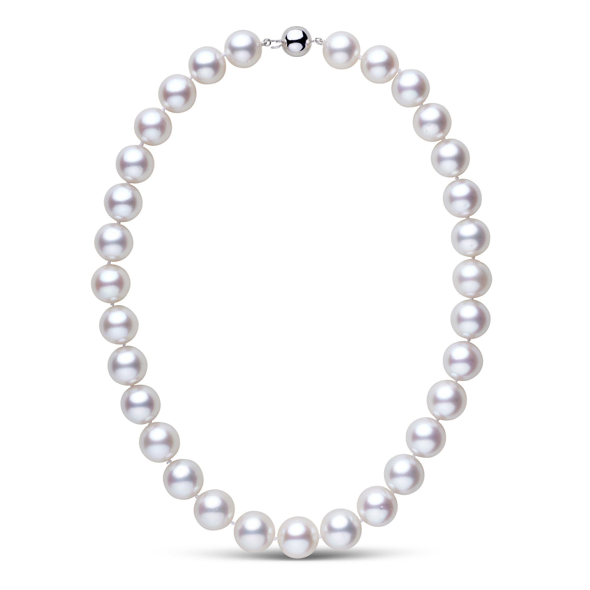 Grand Luminous - White South Sea Necklace