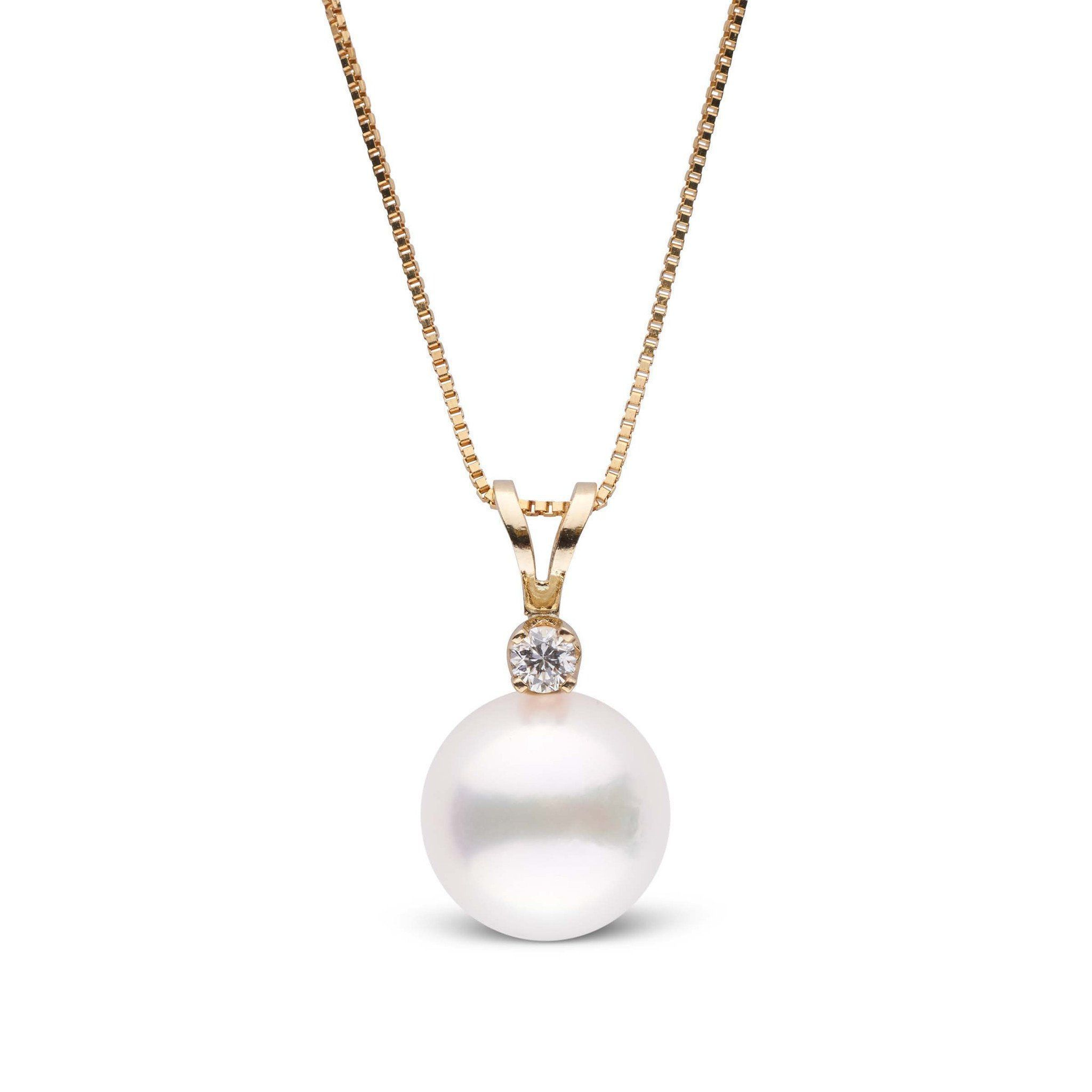 Harmony Collection 8.5-9.0 mm AAA Akoya Pearl Pendant