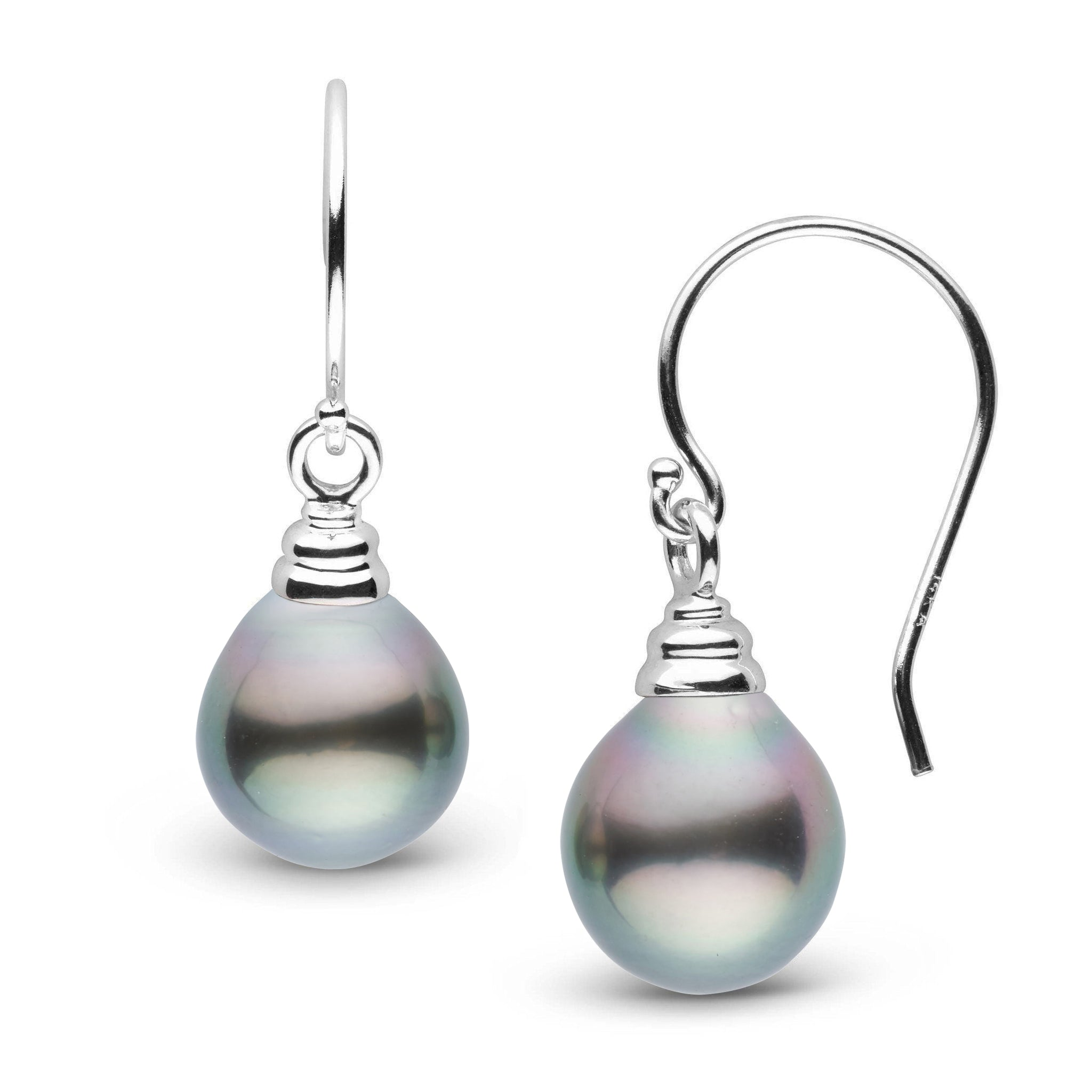 Honey Collection Tahitian Drop 9.0-10.0 mm Pearl Earrings