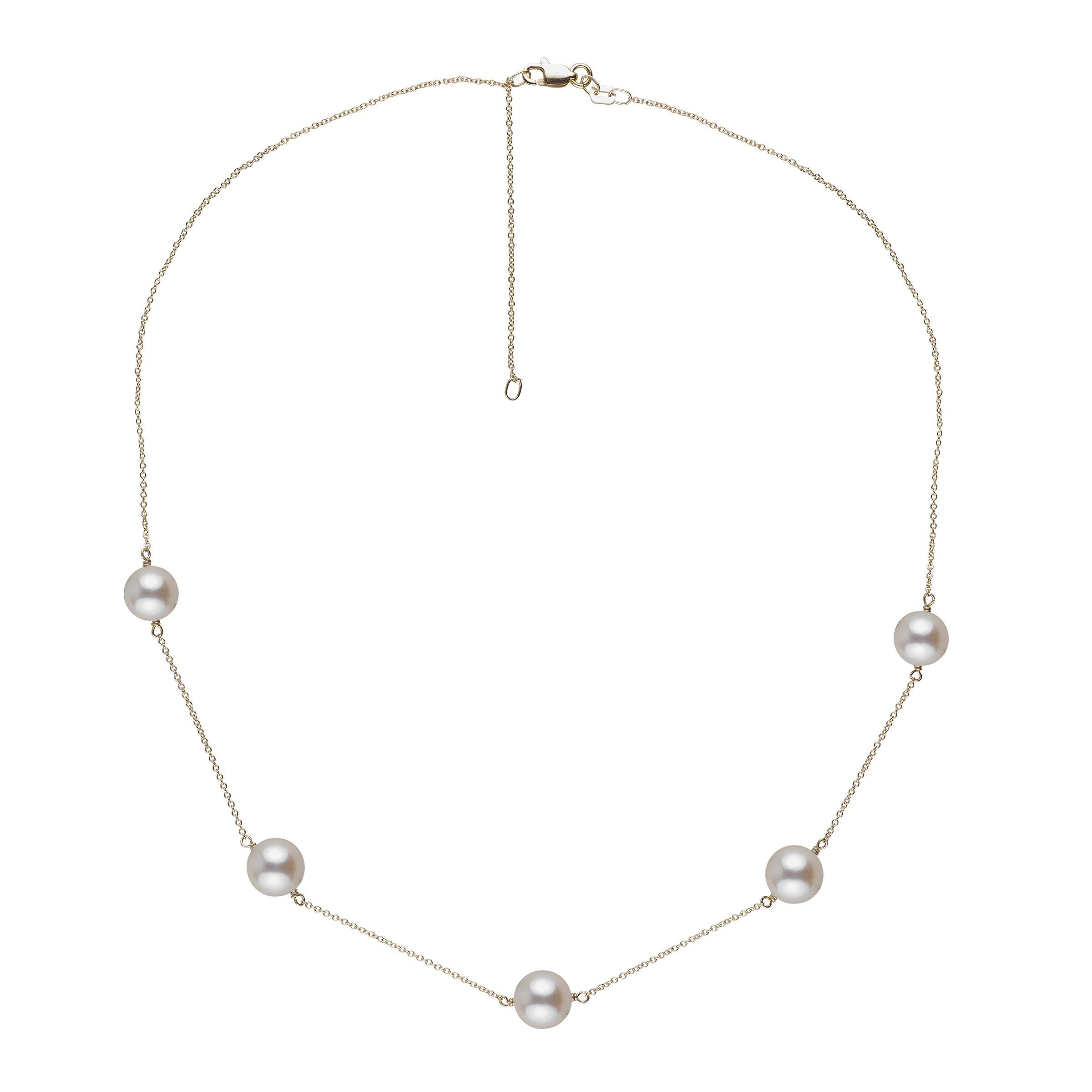 Terra Collection Akoya Pearl Necklace