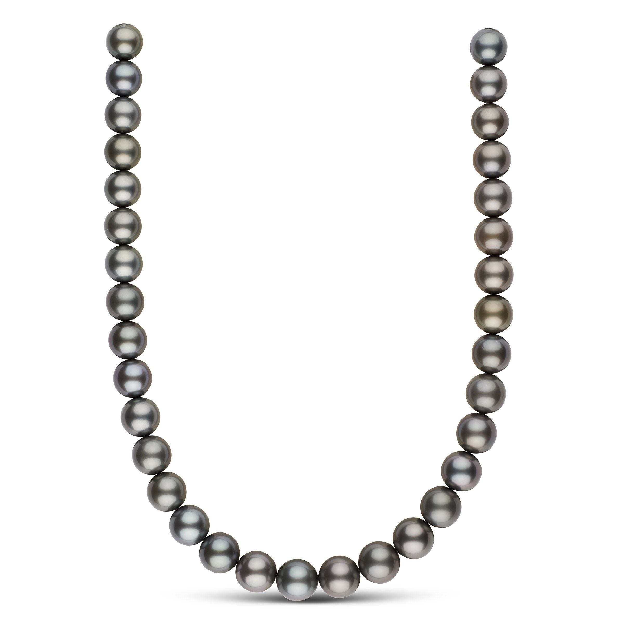 12.0-13.4 mm AA+/AAA Tahitian Round Pearl Necklace