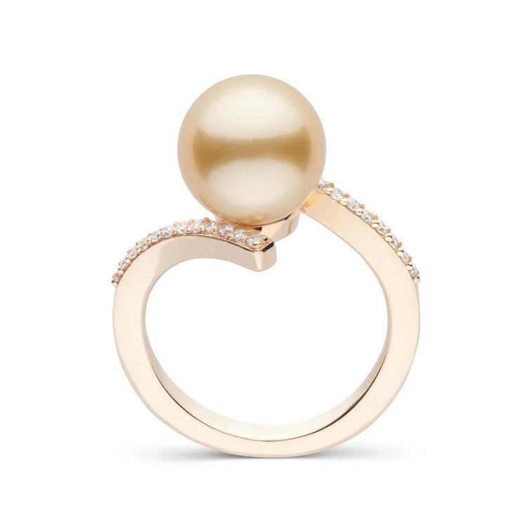 Karma Collection Golden South Sea Pearl Ring