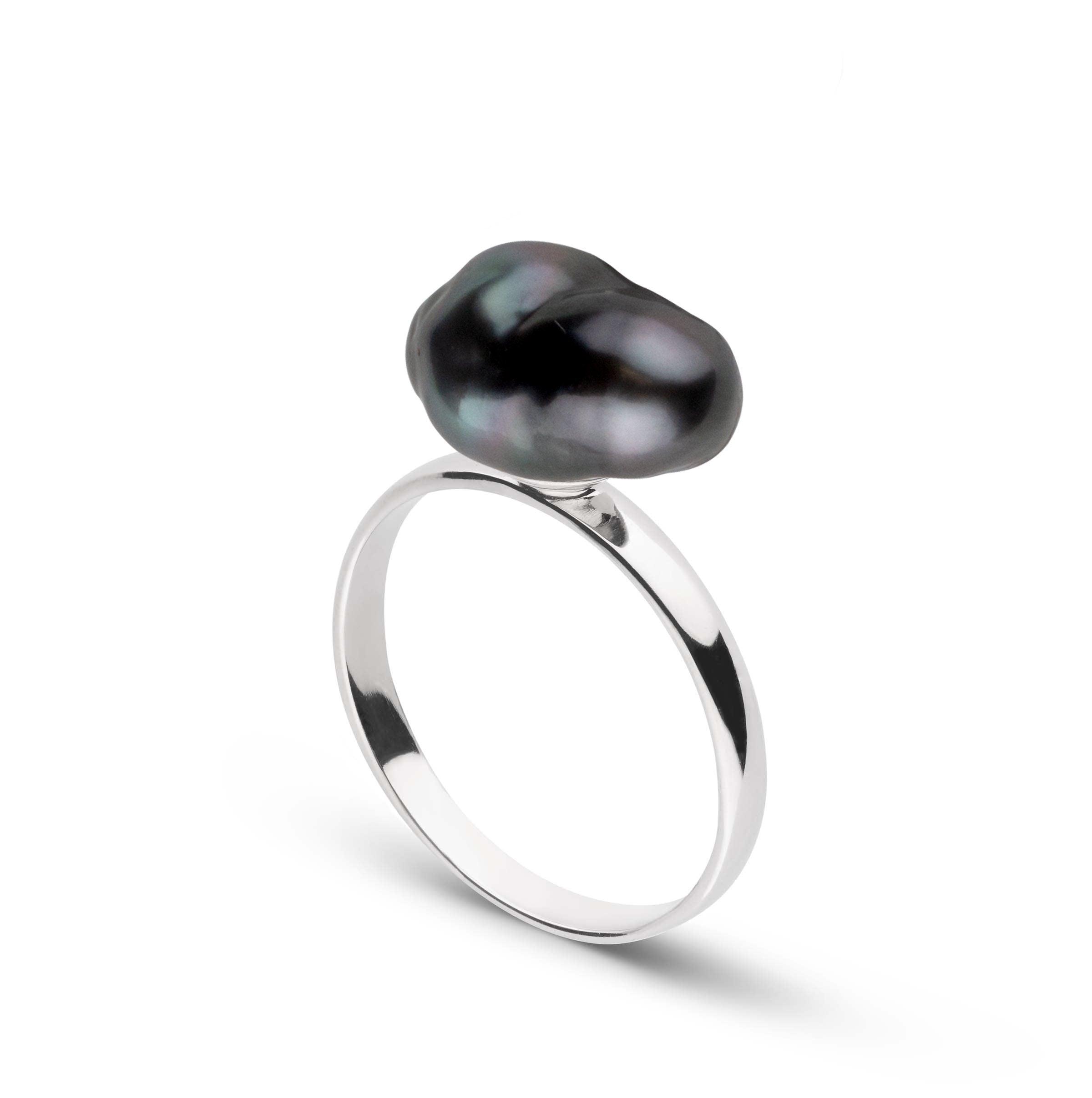 Classic Collection Unique Keshi Tahitian Pearl Ring