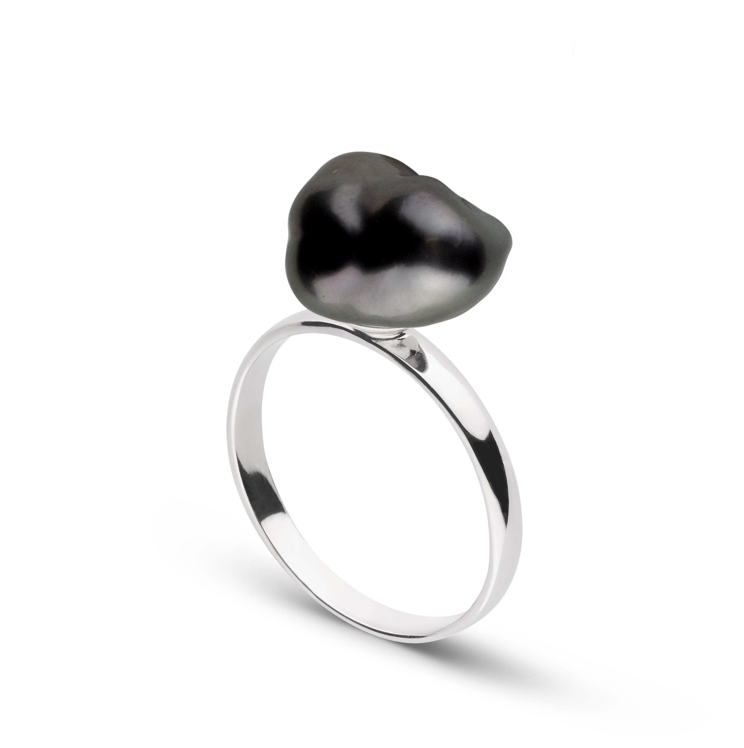 Collection Unique Keshi Tahitian Pearl Ring