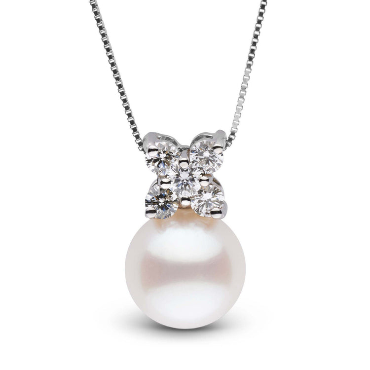 Kiss Collection Freshadama Pearl and Diamond Pendant