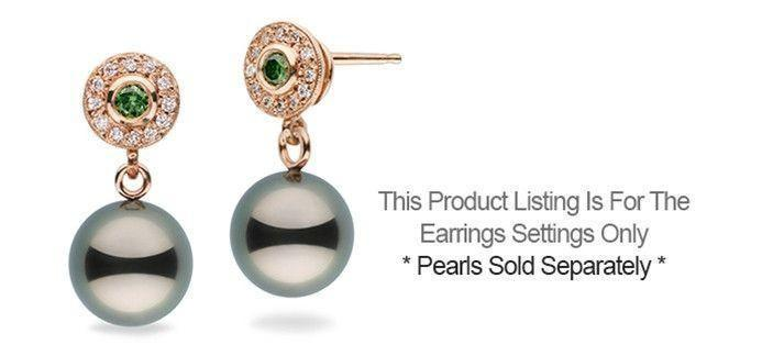 Lavish Collection Diamond Earrings - Setting Only